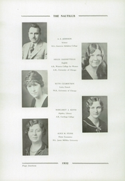 Page 16, 1932 Edition, Libertyville High School - Nautilus Yearbook (Libertyville, IL) online yearbook collection
