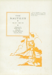 Page 5, 1932 Edition, Libertyville High School - Nautilus Yearbook (Libertyville, IL) online yearbook collection