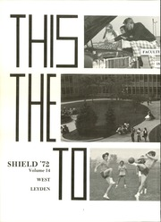 Page 6, 1972 Edition, West Leyden High School - Shield Yearbook (Northlake, IL) online yearbook collection