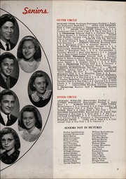 Page 37, 1942 Edition, Thornton Fractional North High School - Chronoscope Yearbook (Calumet City, IL) online yearbook collection