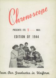 Page 7, 1944 Edition, Thornton Fractional North High School - Chronoscope Yearbook (Calumet City, IL) online yearbook collection