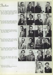 Page 17, 1955 Edition, Thornton Fractional North High School - Chronoscope Yearbook (Calumet City, IL) online yearbook collection