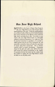 Page 9, 1915 Edition, San Jose High School - Bell Yearbook (San Jose, CA) online yearbook collection