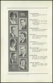 Page 14, 1922 Edition, San Jose High School - Bell Yearbook (San Jose, CA) online yearbook collection
