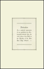 Page 4, 1922 Edition, San Jose High School - Bell Yearbook (San Jose, CA) online yearbook collection