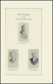 Page 5, 1922 Edition, San Jose High School - Bell Yearbook (San Jose, CA) online yearbook collection