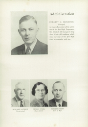 Page 14, 1939 Edition, San Jose High School - Bell Yearbook (San Jose, CA) online yearbook collection