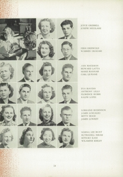 Page 32, 1939 Edition, San Jose High School - Bell Yearbook (San Jose, CA) online yearbook collection