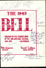 Page 11, 1943 Edition, San Jose High School - Bell Yearbook (San Jose, CA) online yearbook collection