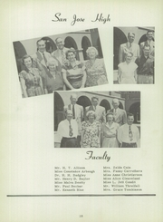 Page 14, 1951 Edition, San Jose High School - Bell Yearbook (San Jose, CA) online yearbook collection