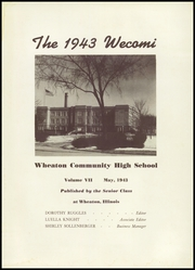Page 5, 1943 Edition, Wheaton Community High School - Wecomi Yearbook (Wheaton, IL) online yearbook collection