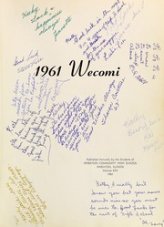 Page 5, 1961 Edition, Wheaton Community High School - Wecomi Yearbook (Wheaton, IL) online yearbook collection
