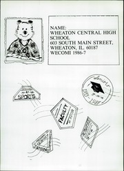 Page 3, 1987 Edition, Wheaton Community High School - Wecomi Yearbook (Wheaton, IL) online yearbook collection