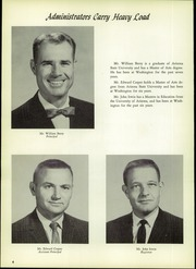 Page 8, 1962 Edition, Washington High School - Panorama Yearbook (Phoenix, AZ) online yearbook collection