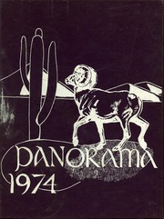 1974 Edition, Washington High School - Panorama Yearbook (Phoenix, AZ)