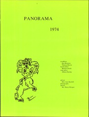 Page 5, 1974 Edition, Washington High School - Panorama Yearbook (Phoenix, AZ) online yearbook collection