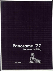 Washington High School - Panorama Yearbook (Phoenix, AZ) online yearbook collection, 1977 Edition, Page 1