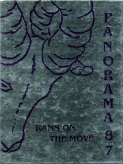 1987 Edition, Washington High School - Panorama Yearbook (Phoenix, AZ)