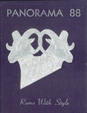 Page 1, 1988 Edition, Washington High School - Panorama Yearbook (Phoenix, AZ) online yearbook collection