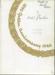 Page 5, 1940 Edition, West High School - Panther Yearbook (Salt Lake City, UT) online yearbook collection