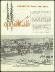 Page 10, 1958 Edition, West High School - Panther Yearbook (Salt Lake City, UT) online yearbook collection