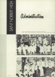 Page 8, 1953 Edition, St Norbert High School - Argos Yearbook (De Pere, WI) online yearbook collection