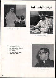 Page 10, 1971 Edition, St Norbert High School - Argos Yearbook (De Pere, WI) online yearbook collection