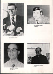 Page 13, 1971 Edition, St Norbert High School - Argos Yearbook (De Pere, WI) online yearbook collection