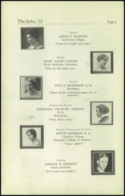 Page 10, 1915 Edition, Superior High School - Lacedaemon Yearbook (Superior, WI) online yearbook collection