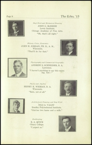 Page 11, 1915 Edition, Superior High School - Lacedaemon Yearbook (Superior, WI) online yearbook collection