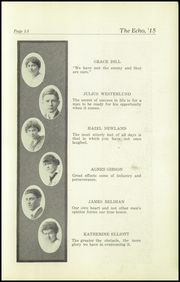 Page 15, 1915 Edition, Superior High School - Lacedaemon Yearbook (Superior, WI) online yearbook collection