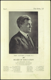 Page 7, 1915 Edition, Superior High School - Lacedaemon Yearbook (Superior, WI) online yearbook collection