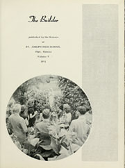 Page 7, 1951 Edition, St Joseph High School - Builder Yearbook (Olpe, KS) online yearbook collection