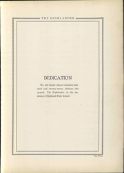 Page 11, 1927 Edition, Highland Park High School - Highlander Yearbook (Topeka, KS) online yearbook collection