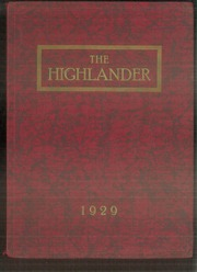 Page 1, 1929 Edition, Highland Park High School - Highlander Yearbook (Topeka, KS) online yearbook collection