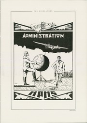 Page 11, 1929 Edition, Highland Park High School - Highlander Yearbook (Topeka, KS) online yearbook collection