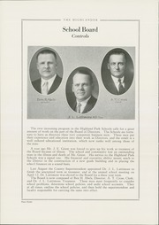 Page 12, 1929 Edition, Highland Park High School - Highlander Yearbook (Topeka, KS) online yearbook collection