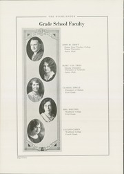 Page 16, 1929 Edition, Highland Park High School - Highlander Yearbook (Topeka, KS) online yearbook collection