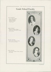Page 17, 1929 Edition, Highland Park High School - Highlander Yearbook (Topeka, KS) online yearbook collection