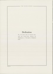 Page 6, 1929 Edition, Highland Park High School - Highlander Yearbook (Topeka, KS) online yearbook collection
