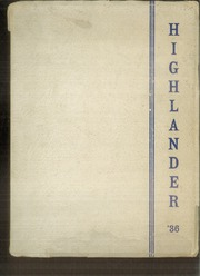 Page 1, 1936 Edition, Highland Park High School - Highlander Yearbook (Topeka, KS) online yearbook collection