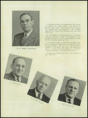 Page 10, 1945 Edition, Highland Park High School - Highlander Yearbook (Topeka, KS) online yearbook collection