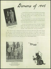 Page 14, 1945 Edition, Highland Park High School - Highlander Yearbook (Topeka, KS) online yearbook collection