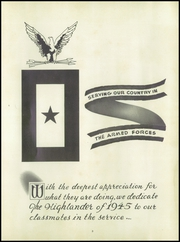 Page 7, 1945 Edition, Highland Park High School - Highlander Yearbook (Topeka, KS) online yearbook collection