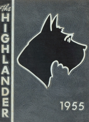 Highland Park High School - Highlander Yearbook (Topeka, KS) online yearbook collection, 1955 Edition, Page 1