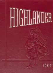 Highland Park High School - Highlander Yearbook (Topeka, KS) online yearbook collection, 1960 Edition, Page 1