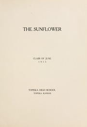 Page 11, 1915 Edition, Topeka High School - Sunflower Yearbook (Topeka, KS) online yearbook collection