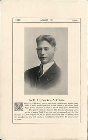 Page 12, 1916 Edition, Topeka High School - Sunflower Yearbook (Topeka, KS) online yearbook collection