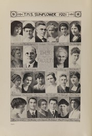 Page 10, 1921 Edition, Topeka High School - Sunflower Yearbook (Topeka, KS) online yearbook collection