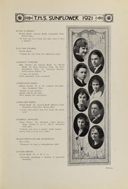 Page 17, 1921 Edition, Topeka High School - Sunflower Yearbook (Topeka, KS) online yearbook collection
